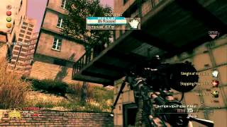 Intense vs gL Modern Warfare 2 Sniping Gameplay