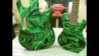 Swirling(8 String Ibanez Gem Guitar Swirl)