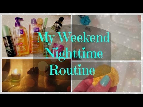 My Weekend Nighttime Routine | Victoria Rose