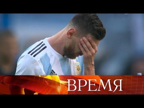 Сборная Франции обыграла Аргентину и вышла в четвертьфинал Чемпионата мира по футболу FIFA 2018.