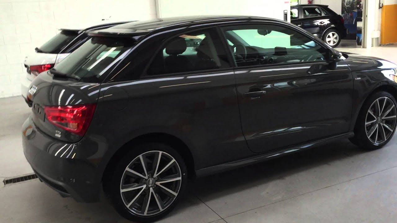 audi a1 3 porte 1 4 tdi ultra youtube. Black Bedroom Furniture Sets. Home Design Ideas