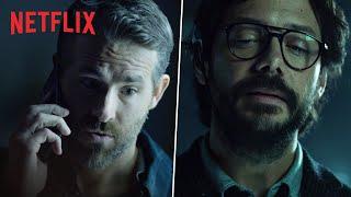Ryan Reynolds Meets The Professor   6 Underground X Money Heist   Netflix India
