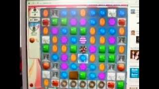 Candy Crush Saga - level 185 - the end of the game