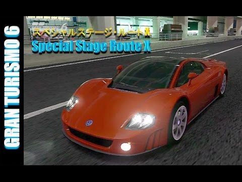 GT6 - スペシャルステージ ・ ルート X | Special Stage Route X