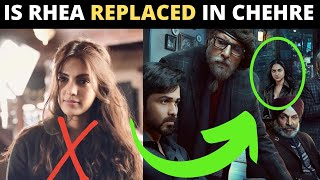Rhea Chakraborty SNUBBED from Amitabh Bachchan starrer 'CHEHRE' poster; Actor left SHOCKED