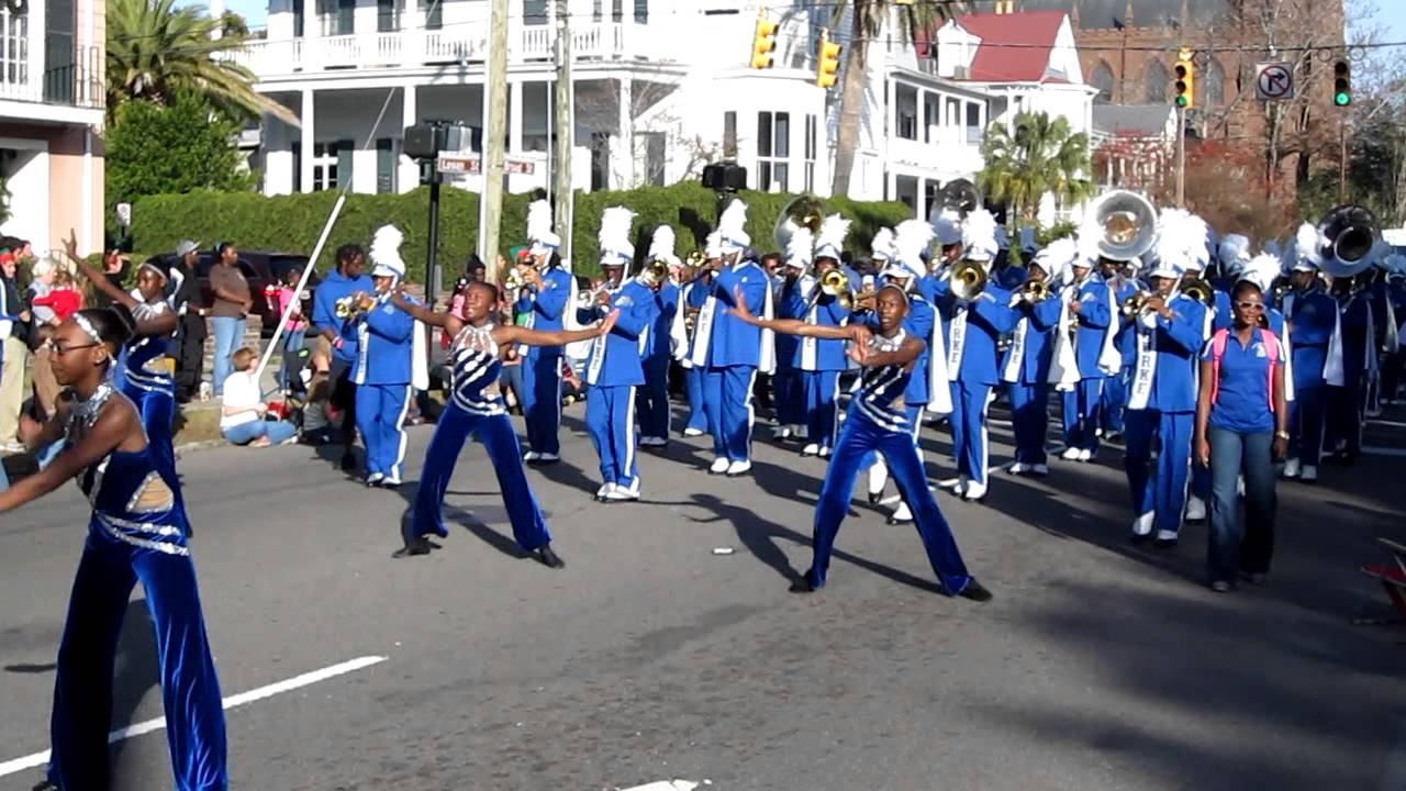 Burke High School Charleston Christmas Parade 2012 - YouTube