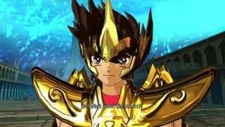 Saint Seiya Soldier's Soul: Poseidon Chapter walkthrough Part 12 [PS4] (English)