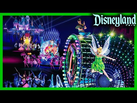 (4K/MP3 Soundtrack) Cool Intro, Paint The Night Parade Disneyland: Final/Full Show 60th Celebration