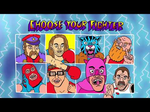 Idles Battle Demented Video Game Fighters in 'Never Fight a Man With a Perm' Video