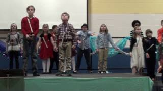 symmes elementary 2016 4th grade holiday concert concert