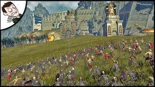 BRUTAL DWARF DEFENCE! Shadow of the Grey Custom Map -  Total War WARHAMMER Mod Gameplay