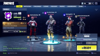 Fortnite Battle royale Duos 9925+kills(591+Wins) NewTwitch skins
