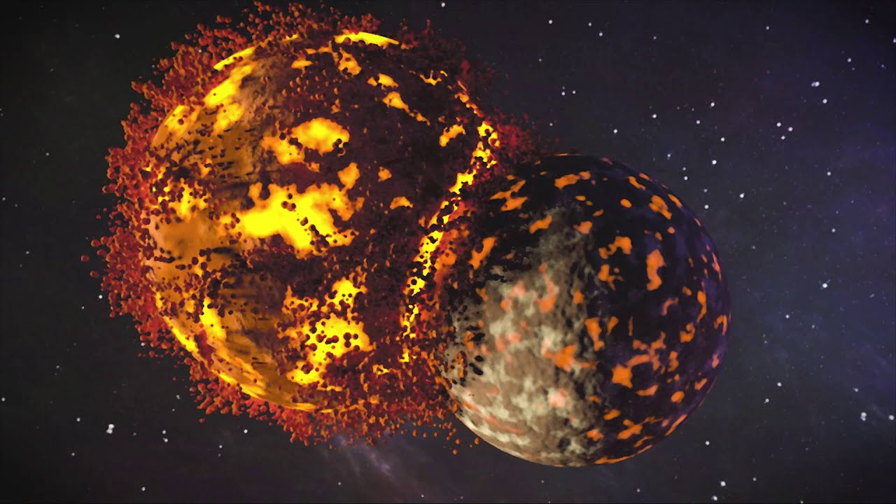 Colliding Planets Animation Blender 3D YouTube