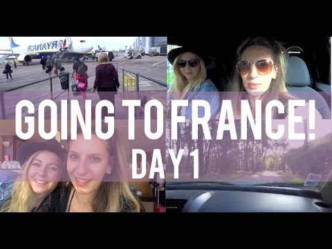 Going to France! Daily Vlog April 2015