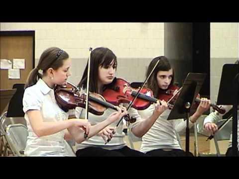 2010-12-20 - Parkside Junior High School Orchestra: Winter Concert 2010 - Part 3