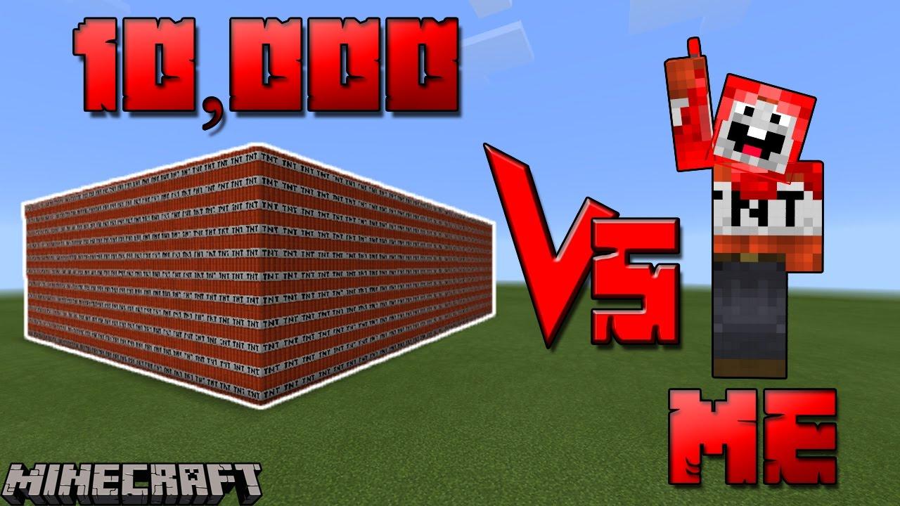 Worksheet. 10000 TNT Vs ME  The TNT Guy  SEE WHO WON  Minecraft TNT
