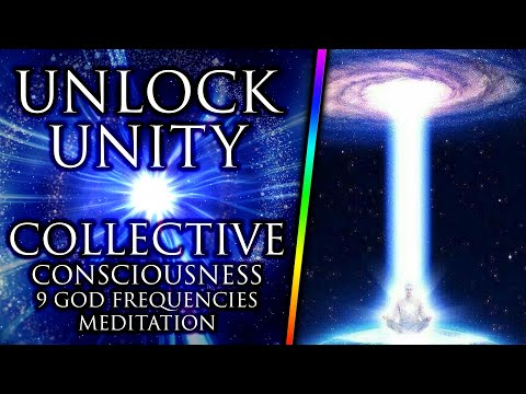 UNLOCK Your Metaphysical Power ꩜ UNITY Consciousness ❯❯❯ 9 GOD Frequencies ❖ 432 Hz Meditation