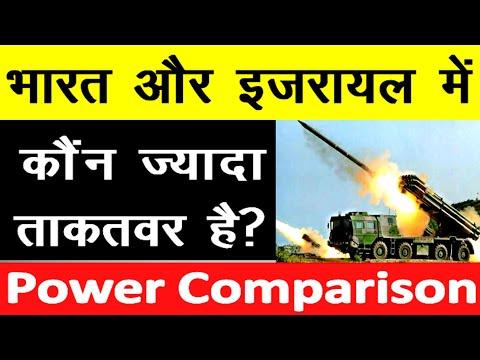 India और Israel के बीच Military Power Comparison 2020 India Vs Israel Power Comparison 2020