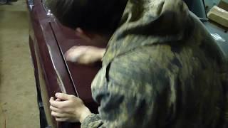 видео Полировка кузова ваз 2108