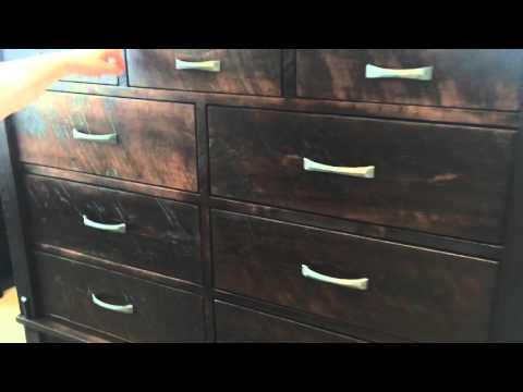 Timber drawer spacing adjustment.