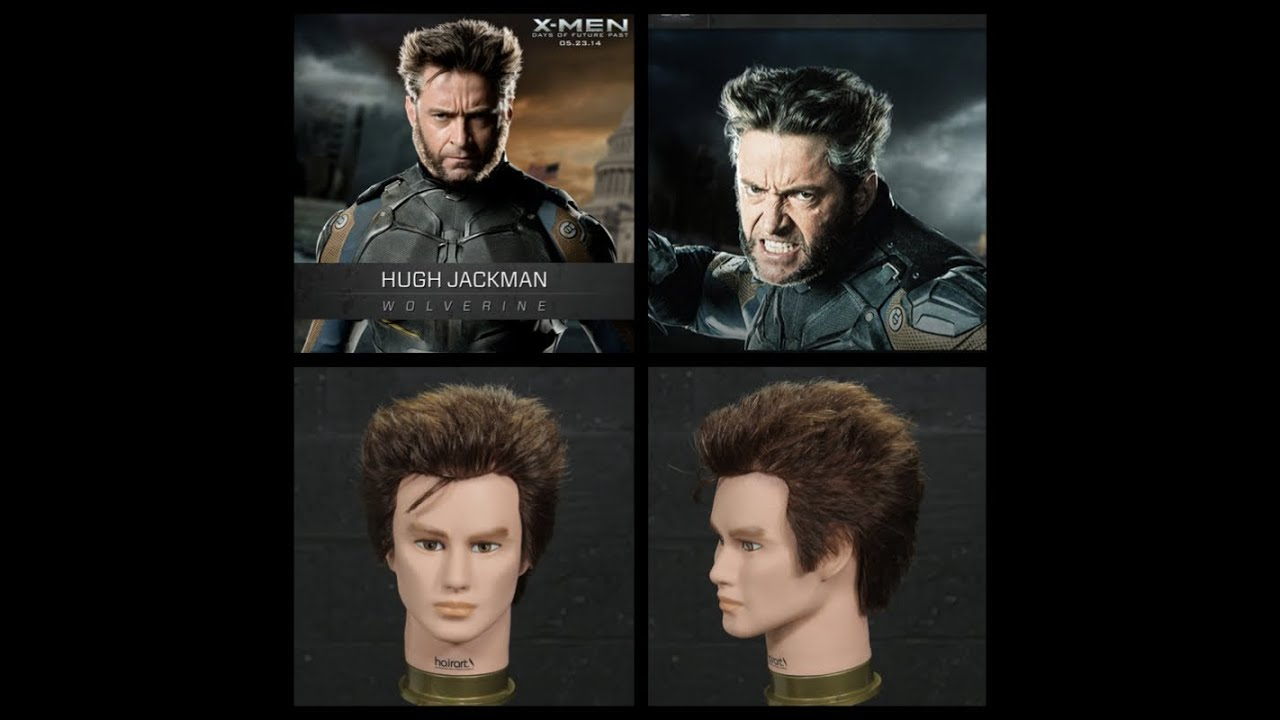 how to get wolverine facial hair