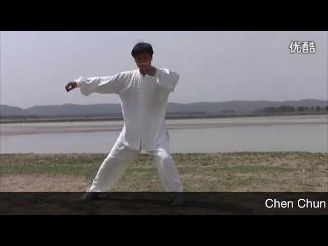 Chen Chun Sheng - Tai Chi style Chen Xiaojia Yilu (2) [陈氏太极拳小架 Taijiquan style Chen Xiaojia]