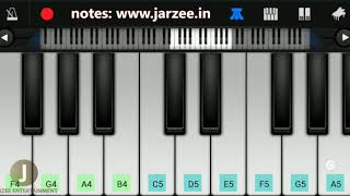 Download lagu Señorita Piano Tutorial Slow Version | Shawn Mendes, Camila Cabello | Jarzee Entertainment