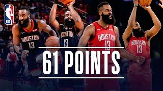 James Harden Drops 61 TWICE This Season