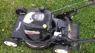 Brute self propelled mower