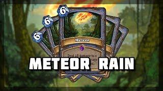 Hearthstone - Raining meteors