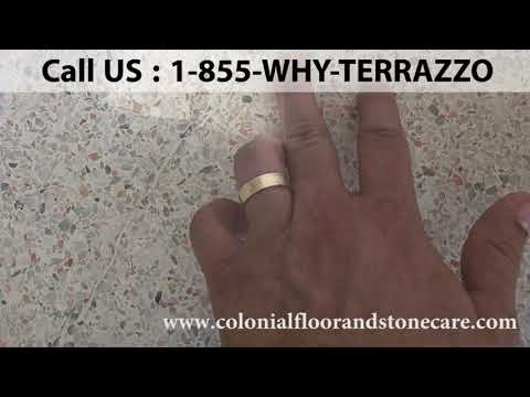 Terrazzo Floor Cleaning and Restoration Service in Fort Lauderdale