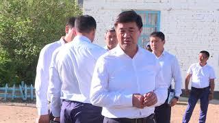 07 07 2018 Box Premer ministr oznakomilsya s sostoyaniem shkoly v sele Don Talaa