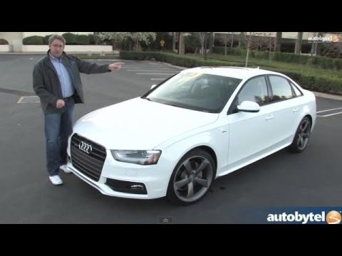 2014 audi a4 test drive video review youtube. Black Bedroom Furniture Sets. Home Design Ideas