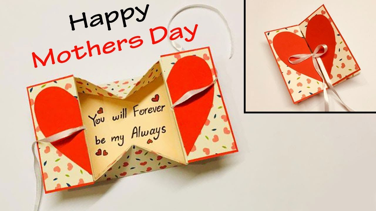 mothers day cards handmade easy  happy mothers day