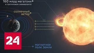 видео Солнечные магнитные бури