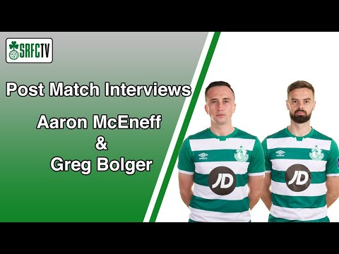 Aaron McEneff & Greg Bolger | Post Match Interview v Sligo | FAI Cup Semi Final | 29 November 2020