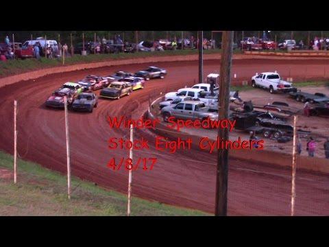 Winder Barrow Speedway Street Stock Feature Race 4/8/17