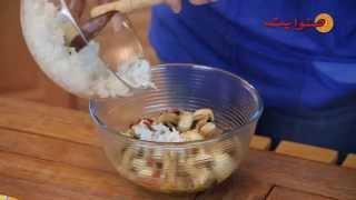 Sun White No Chef Ep 06   Marinated Mushroom Rice Salad