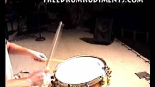 Single Drag Tap - FreeDrumRudiments.com