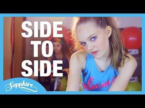 Ariana Grande - Side To Side ft. Nicki Minaj - Cover by 13 y/o Sapphire