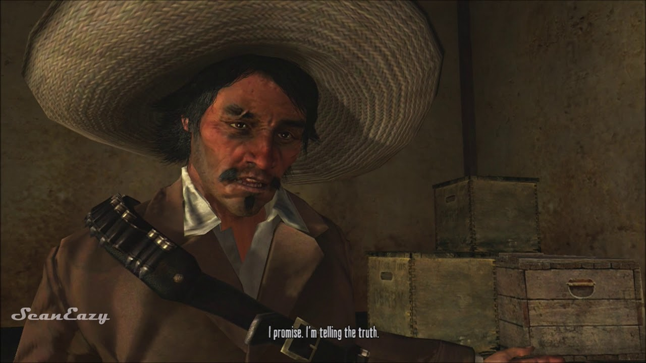 Red Dead Stories: The Capture Of Javier Escuella (All