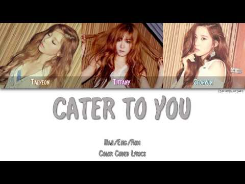 SNSD-TTS (GIRLS' GENERATION-TTS) - CATER TO YOU [Color Coded]