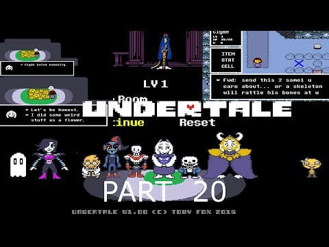 Undertale part 20 pacifist going back to the ruins