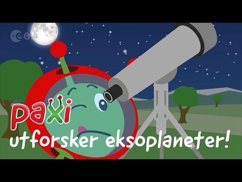 Paxi utforsker eksoplaneter!