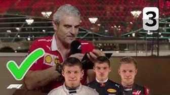 Ferrari's Maurizio Arrivabene | F1 Grill The Grid Team Bosses