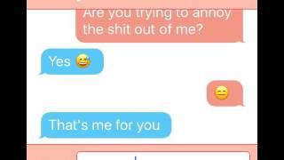 Romantic texting story ep 1