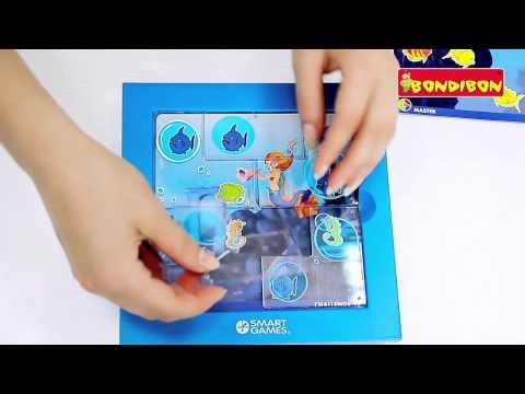Логическая игра BONDIBON Smart Games - Русалочки