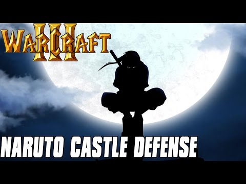 Naruto Castle Defense - Itachi Kills his Clan - Warcraft 3 Mod