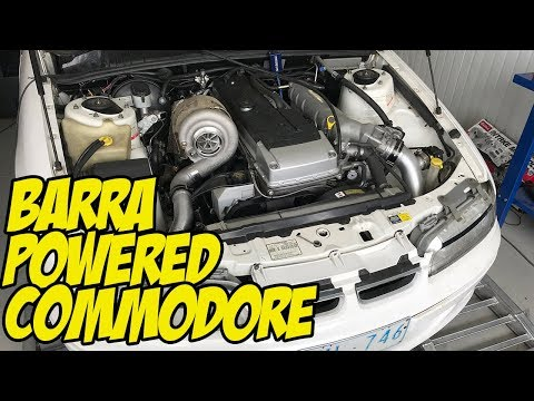 Budget Build - Barra Powered Commodore Ute