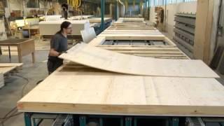 Produzione pareti in legno